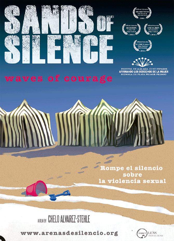 Sands of silence: waves of courage (Arenas de silencio: olas de valor)