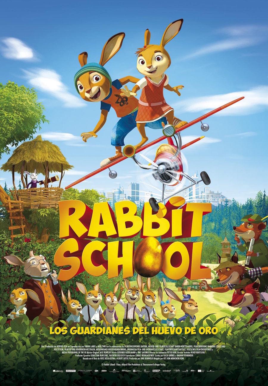 RABBIT SCHOOL: LOS GUARDIANES DEL HUEVO DE ORO