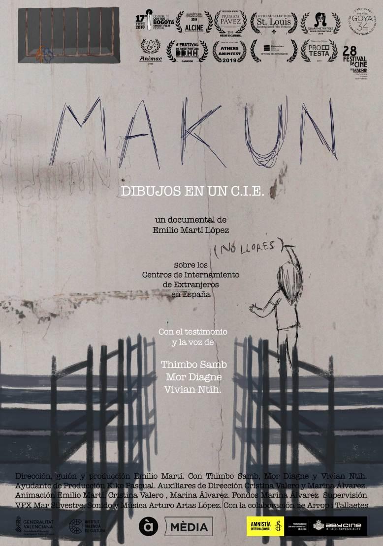 MAKUN (NO LLORES): DIBUJOS EN UN C.I.E